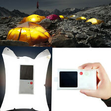 Waterproof Solar Lantern LED Light 16 Solar Tent Lamp Torch Inflatable PackLite