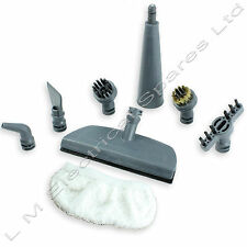 Handheld Steam Cleaner Brush Nozzle Window Cleaning Pad Tool Kit For Vax S6, S6S