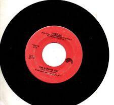 SHEILA E. disco 45 giri HOLD ME + THE WORLD IS HIGH 1986