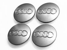 4 New OEM Wheel Center Cap 8D0601170(68mm) FOR AUDI A3 A4 A6 S3 S4 S6 RS4 RS6 Q7