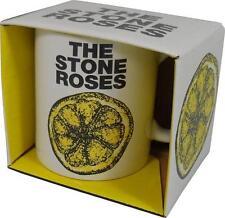 Stone Roses: Lemon Logo Ceramic Coffee / Tea Mug - New & Official In Box