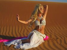 Egyptian BELLY DANCE COSTUME Custom-Made bellydance Dress With Cutout Bauchtanz