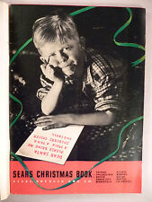 Sears CATALOG - Christmas, 1938 ~~ toy, toys ~~ nice condition