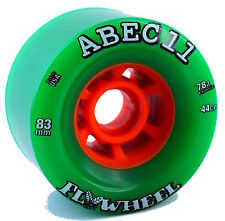 ABEC 11 FLYWHEELS - 83mm 78a Longboard Wheels Set