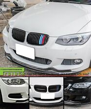 AK Look Carbon Fiber Front Bumper Spoiler Lip For 2011+ E92 328i 335i M Sports