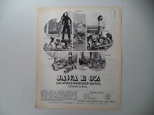advertising Pubblicità 1970 MOTO CZ 125/175/JAWA 90 TRIAL/250/350