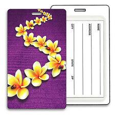 Plumeia Luggage Bag Travel Tag Flower Lady Bug Lenticular #LT01-290#