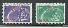 NORTH VIET NAM # 160-161 MNH FIRST MANNED RUSSIAN SPACE FLIGHT (1)