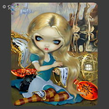 ALICE IN A DALI DREAM Strangeling Art Mouse Mat / Pad By Jasmine Becket-Griffith