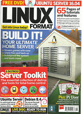 LINUX FORMAT,  AUGUST, 2016   ISSUE, 213  ( BUILD IT ! YOUR ULTIMATE HOME SERVER