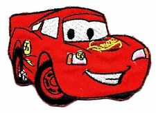 LIGHTNING MCQUEEN in Cars Pixar Disney Embroidered Iron On/ Sew On Patch