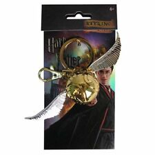 Harry Potter New * Golden Snitch * Quidditch Pewter Key Chain Key Ring Hogwarts