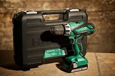 EX-DEMO HITACHI DV18DGL 18V COMBI DRILL WITH 2X1.5AH BATTERIES, CHARGER AND CASE