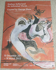 Graham Sutherland - An unfinished world   ART EXHIBITION POSTER #3