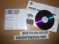 CD Indie Lonelady-Early the haste Comes (1 chanson) promo warp/presskit