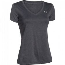 Under Armour Women's Tech V-Neck Short Sleeve Shirt SIZE 14