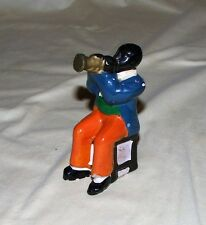 Vintage Black Americana Figurine Louis Armstrong ? Jazz Player 1930-50 Era