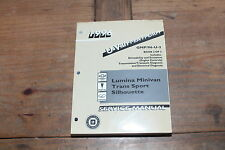 Lumina Minivan Trans Sport Silhoutte Book 2 U-Van 1996 Chevy Shop Service Manual