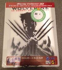 Blu-ray Steelbook Wolverine Le Combat de l'Immortel 3D lenticulaire - neuf