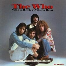 Who's Better, Who's Best by The Who (CD, Nov-1988, MCA (USA))