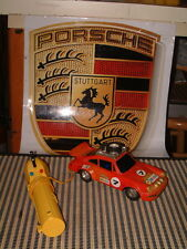 VINTAGE PORSCHE 930 RALLY VERSION W/TETHERED VARIABLE SPEED REMOTE CONTROL '76