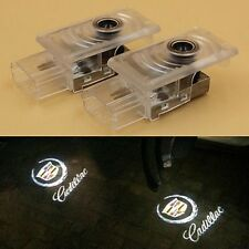2x Cree Ghost LED Projector Lamp Shadow Door Welcome Courtesy light for Cadillac