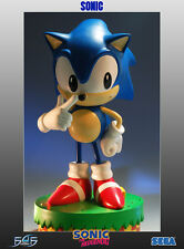 First4Figures Sonic the Hedgehog Classic Sonic Statue RARE Mint in Box