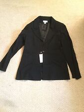 NWT Karl Lagerfeld H&M Black Blazer (with Bag) Sz 14