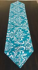 Pointed End Table Runner Dining Moroccan Turquoise