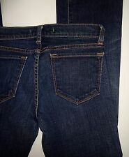 "J BRAND #918 Low-Rise ""BOOT LEG"" Jeans In Dark CRY Wash Size 25 X 28 $175"