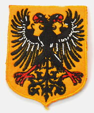 EAGLE DOUBLE HEADED SHIELD  Embroidered Sew Iron On Cloth Patch Badge APPLIQUE