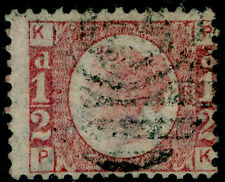 Sg49, ½d rose plate 19, good used. Cat £80. PK