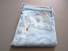 LEVI'S TYPE 2050 TWISTED ENGINEERED JEANS WOMEN'S W28 L30 BLUE VINTAGE LEVY338