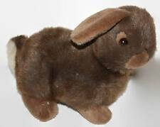 Anna Club Plush Brown Bunny The Leather Tag Line 1990 Stuffed Animal Soft Toy