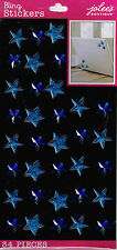 Jolee's All That Bling XL ***BLUE PUFFY STARS & GEMS***