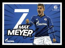 Max Meyer Autogrammkarte FC Schalke 04 2016-17 Original Signiert+A 145763