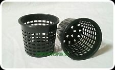 Basket / Mesh / Net Plant Pots 80 mm - Pack of 10 - Hydroponics, Orchids & more