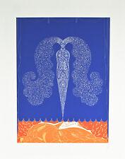 """""""Le Rideau de L'Hiver"""" by Erte Signed Artist's Proof AP Lithograph 23""""x18 1/2"""""""
