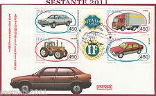 ITALIA FDC ROMA COSTRUZIONI AUTOMOBILISTICHE ITALIANE 1984 TORINO Y544