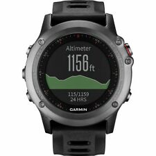 Neuf garmin fenix 3 gris gps running triathlon glonass sports watch garantie complète