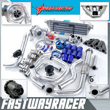 Civic EF EG EK 1.5L D15 D16 D16A D16Y D16Y8 T3/T4 Turbo Kit W/ Turbonetics Turbo