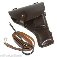 Original Soviet Tokarev TT-33 pistol belt holster with accessories Dated