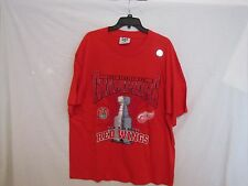 "RARE - Detroit Red Wings ""1997 Stanley Cup Champions""  NHL T-Shirt - Size XL NEW"