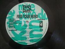 MIKE DUNN - FREE YOUR MIND LP Album 1990 Desire Records ACID HOUSE/HIP-HOUSE