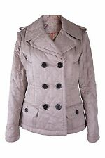 *BURBERRY* GOLD QUILTED JACKET (M)