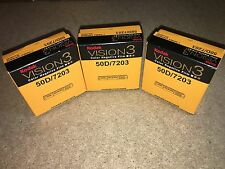 3 Rolls Kodak V3 Super 8mm Colour Negative Film 50D 7203 Official Reseller
