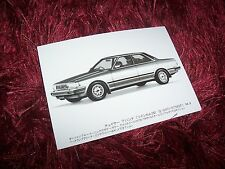 Photo de presse / Original Press photo TOYOTA Chaser 1984 //