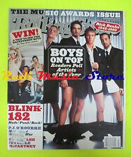 ROLLING STONE USA MAGAZINE 832/2000 Backstreet Boys Blink-182 Rick Danko  No cd