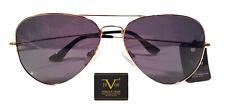 Versace 19.69 Brand Women's Aviator Sunglasses Gold/Grey