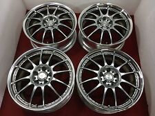 "JDM 18"" WORK XSA 18x7.5 +48 5x114.3 RIMS HONDA CIVIC ACCORD HR-V S2000 #EF095"